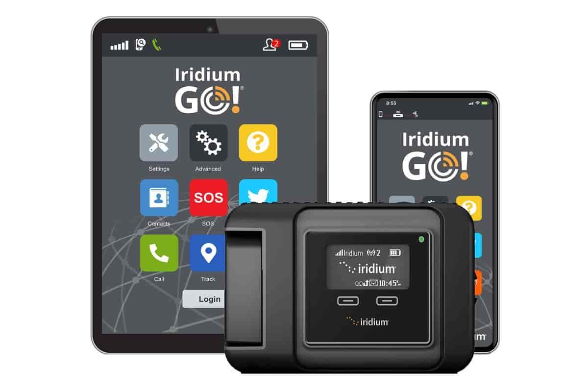 Iridium bietet wie eine gewöhnliche Mobilfunk-Marke auch Tablet und Smartphone an