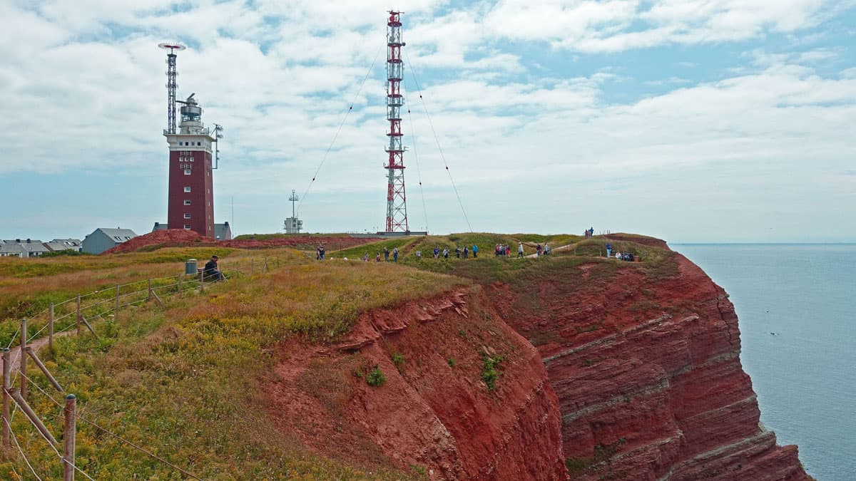 Telekom-Sendemast auf Helgoland: So wie rund um die Insel soll der Handy-Empfang in der gesamten Deutschen Bucht bald sein © Pixabay