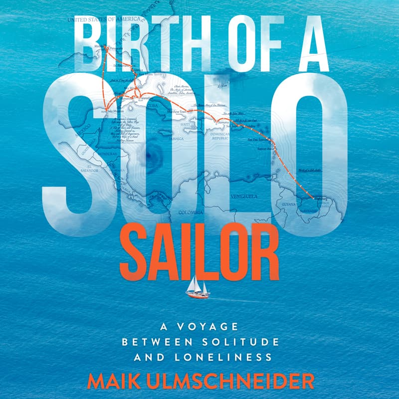 Buchcover Geburt eines solo Seglers