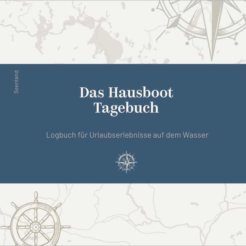 Buchcover Das Hausboot Tagebuch