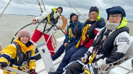 Wie ich einmal nach Helgoland segeln wollte
