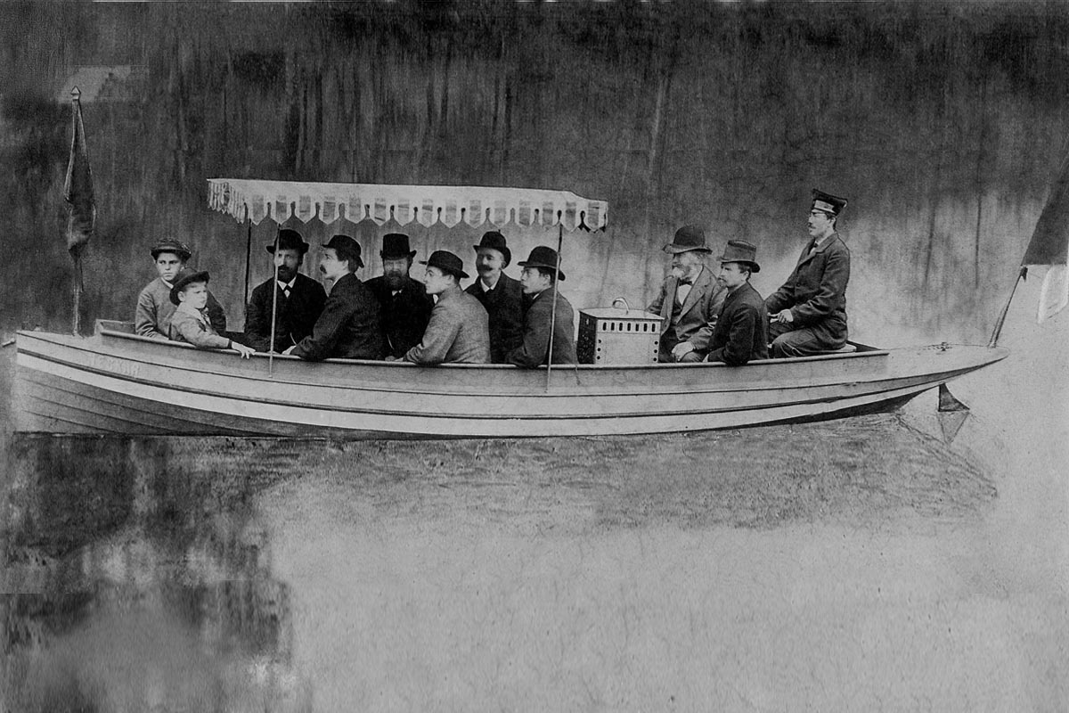 135 Jahre Daimler-Motorboote © Daimler