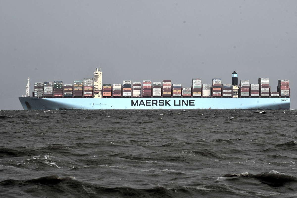 Containerschiff Milan Maersk