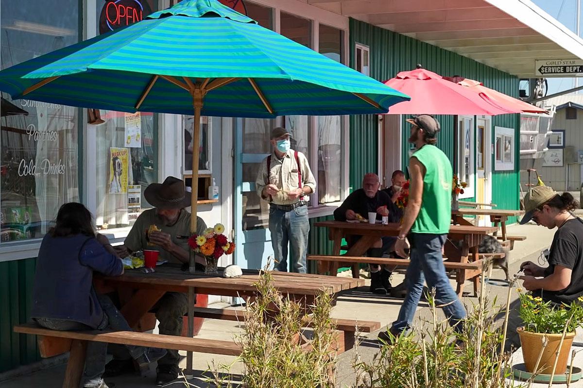 Das Marina-Cafe