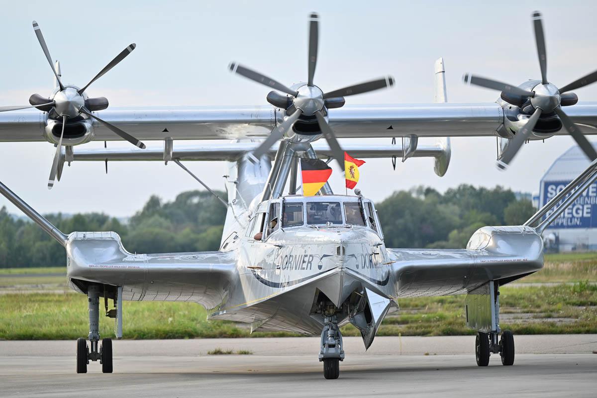 Flugboot  Dornier Do 24 am Flughafen Friedrichshafen