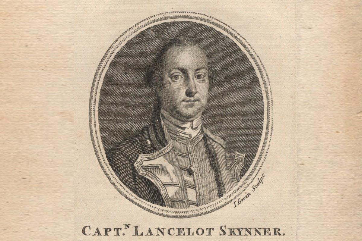 Captain Lancelot Skynner ging mit seinem Schiff unter